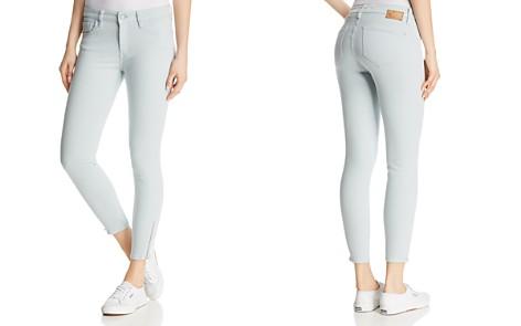 Mavi Adriana Ankle Zip Skinny Jeans in Slate Twill - Bloomingdale's_2