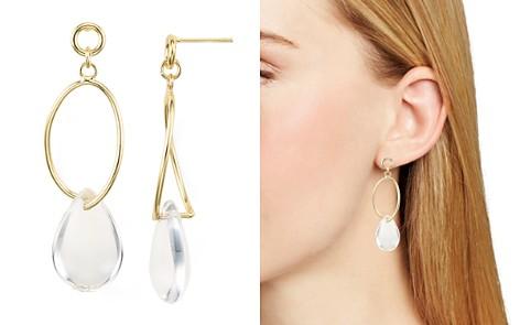 AQUA Loop Drop Earrings - 100% Exclusive - Bloomingdale's_2