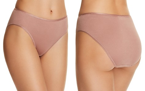 Hanro Cotton Seamless High-Cut Full Briefs - Bloomingdale's_2