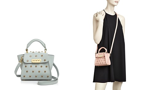 ZAC Zac Posen Eartha Jewel Lady Mini Leather Crossbody - Bloomingdale's_2