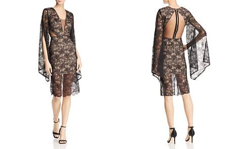 BRONX AND BANCO Natasha Illusion Lace Dress - Bloomingdale's_2