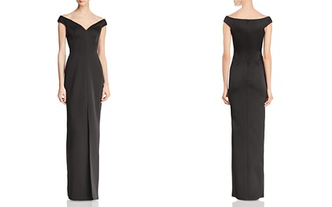 BCBGMAXAZRIA Off-the-Shoulder Gown - 100% Exclusive - Bloomingdale's_2