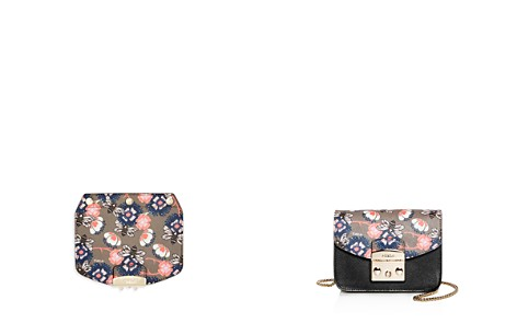Furla MY PLAY Interchangeable Metropolis Mini Bee Print Leather Flap - Bloomingdale's_2