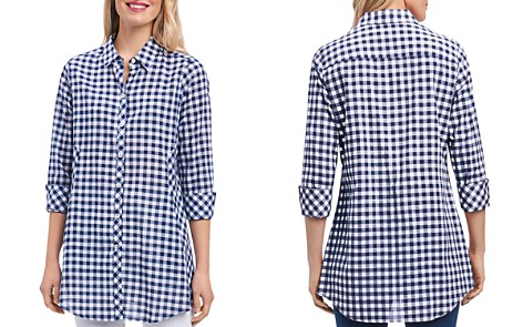 Foxcroft Gingham Tunic - Bloomingdale's_2