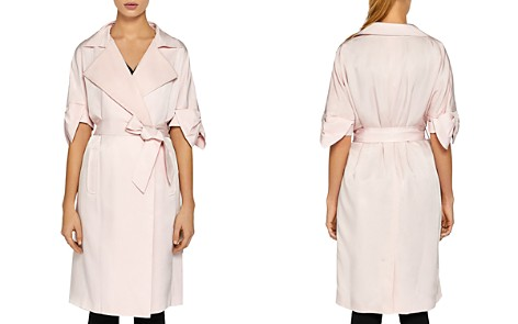 Ted Baker Biibi Bow-Trimmed Trench Coat - Bloomingdale's_2