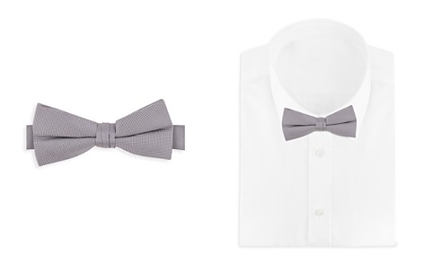 Bloomingdale's Boys Boys' Solid Bow Tie - 100% Exclusive_2