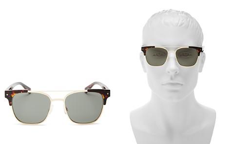 Polaroid Polarized Brow Bar Square Sunglasses, 53mm - Bloomingdale's_2