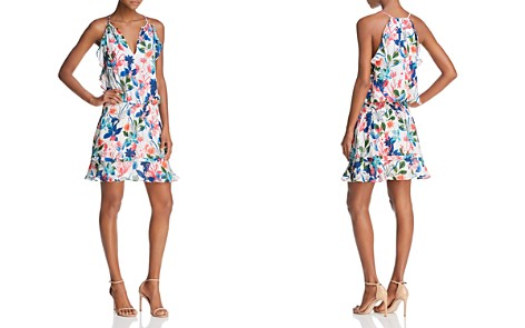 Parker Williame Floral Silk Dress - Bloomingdale's_2