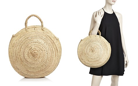 Caterina Bertini Straw Circle Tote - Bloomingdale's_2