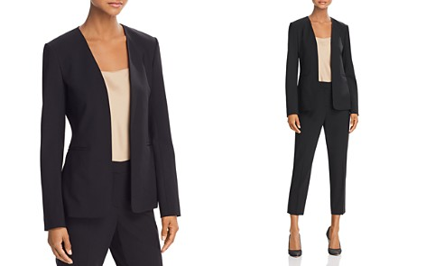 Theory Isita Classic Stretch-Wool Blazer - Bloomingdale's_2