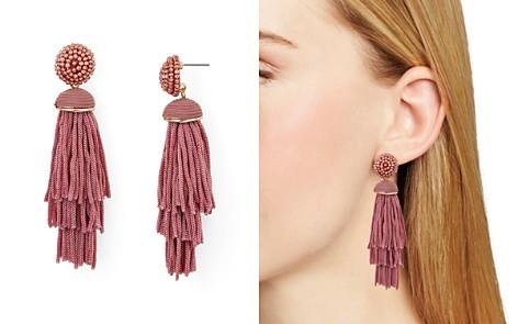 AQUA Tiered Tassel Drop Earrings - 100% Exclusive - Bloomingdale's_2