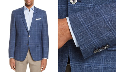 BOSS Hutsons Slim Fit Plaid Check Sport Coat - Bloomingdale's_2