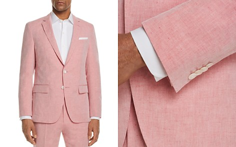 BOSS Linen Solid Slim Fit Sport Coat - Bloomingdale's_2