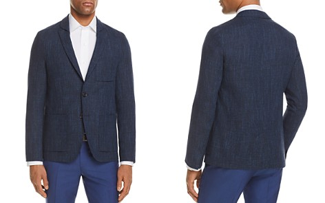 HUGO Shadow Check Slim Fit Sport Coat - Bloomingdale's_2
