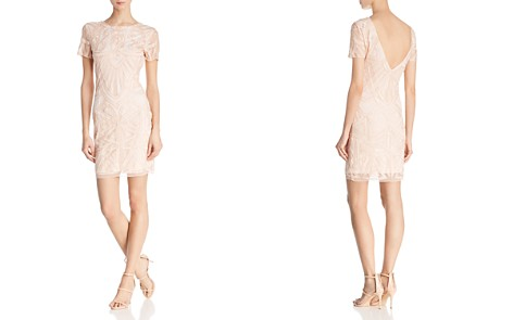 Molly Bracken Embellished V-Back dress - Bloomingdale's_2