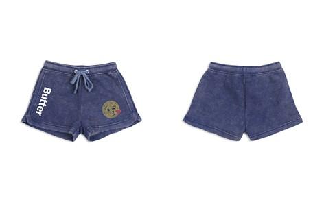 Butter Girls' Embellished Emoji Fleece Shorts - Big Kid - Bloomingdale's_2