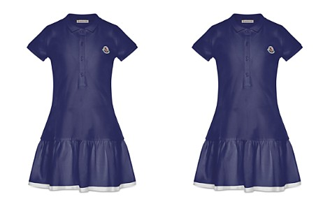 Moncler Girls' Polo Dress - Big Kid - Bloomingdale's_2