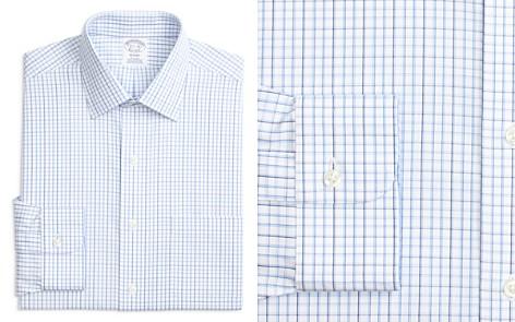 Brooks Brothers Tonal Windowpane Check Regular Fit Dress Shirt - Bloomingdale's_2