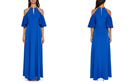 Ted Baker Bennah Cold-Shoulder Maxi Dress - Bloomingdale's_2