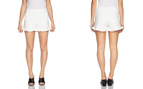 1.STATE Ruffle-Cuff Mini Shorts - Bloomingdale's_2