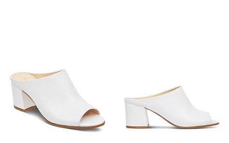 IVANKA TRUMP Evia Leather Block Heel Slide Sandals - Bloomingdale's_2