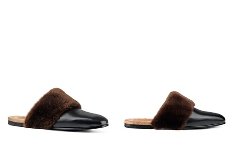 Gucci Faux Fur Slippers - Bloomingdale's_2