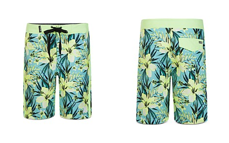 Hurley Boys' Tropical Garden Print Board Shorts - Little Kid - Bloomingdale's_2