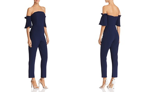 Adelyn Rae Olena Off-the-Shoulder Jumpsuit - Bloomingdale's_2