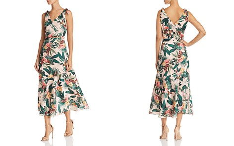 Sam Edelman Sleeveless Flamingo-Print Dress - Bloomingdale's_2