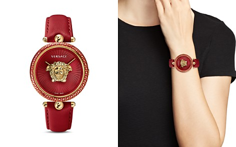 Versace Palazzo Red Empire Watch, 39mm - Bloomingdale's_2
