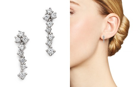 Bloomingdale's Diamond Cascade Drop Earrings in 14K White Gold, 0.35 ct. t.w. - 100% Exclusive _2