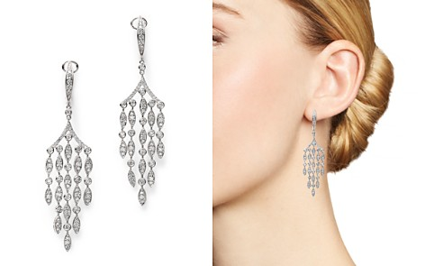Bloomingdale's Diamond Chandelier Drop Earrings in 14K White Gold, 1.60 ct. t.w. - 100% Exclusive _2