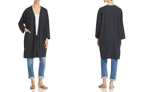 Eileen Fisher Silk Kimono Jacket - Bloomingdale's_2