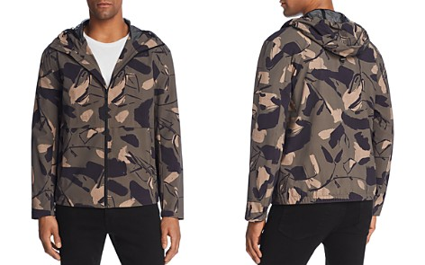 Theory Wright Delfine Camouflage Hooded Jacket - Bloomingdale's_2