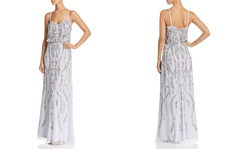 Adrianna Papell Embellished Blouson Gown - Bloomingdale's_2