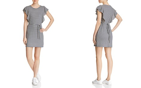 Splendid Ruffle-Sleeve Striped Tee Dress - Bloomingdale's_2