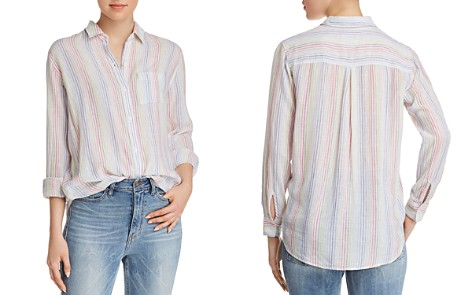 Rails Charli Rainbow Striped Shirt - Bloomingdale's_2
