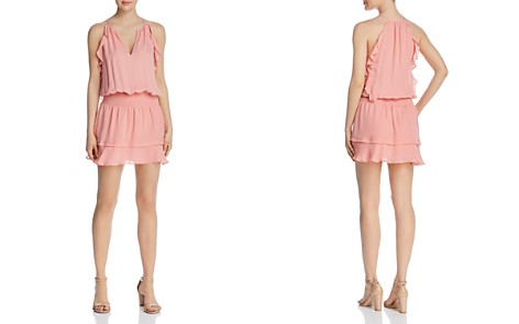 Parker Williame Sleeveless Ruffle-Trim Dress - Bloomingdale's_2