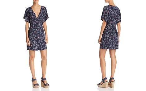 PAIGE Cherelle Plunging Floral Dress - Bloomingdale's_2