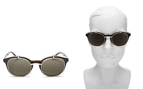 Quay Penny Royal Square Flip-Up Sunglasses, 47mm - Bloomingdale's_2