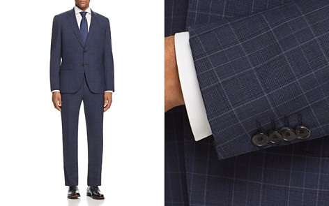 BOSS Johnstons/Lenon Regular Fit Plaid Suit - Bloomingdale's_2
