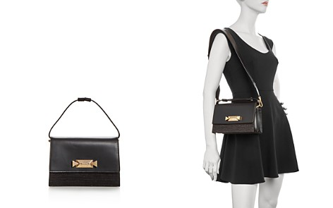 Max Mara Raffia & Leather Satchel - Bloomingdale's_2