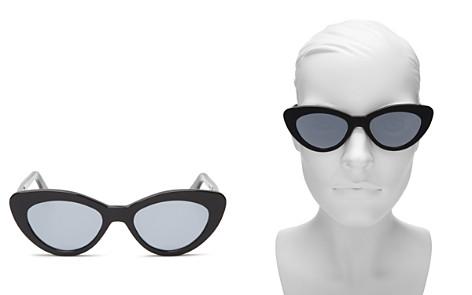 Illesteva Women's Pamela Mirrored Cat Eye Sunglasses, 52mm - Bloomingdale's_2