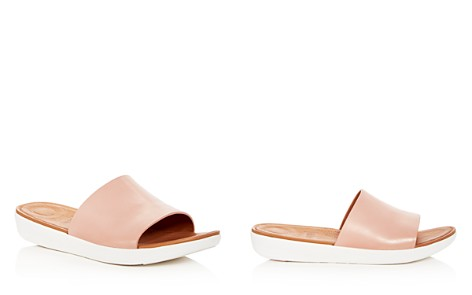 FitFlop Women's Sola Leather Platform Slide Sandals - Bloomingdale's_2
