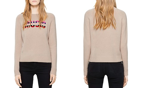 Zadig & Voltaire Baly Bis Cashmere Sweater - Bloomingdale's_2
