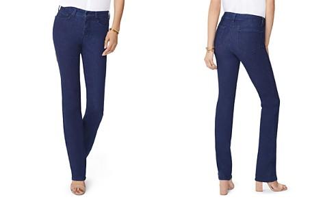 NYDJ Petites Marilyn Straight Jeans in Rinse - Bloomingdale's_2