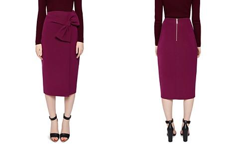 Ted Baker Liyah Bow-Detail Skirt - Bloomingdale's_2