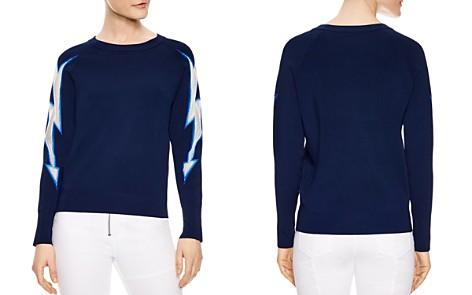 Sandro Sade Lightning Bolt Sweater - Bloomingdale's_2
