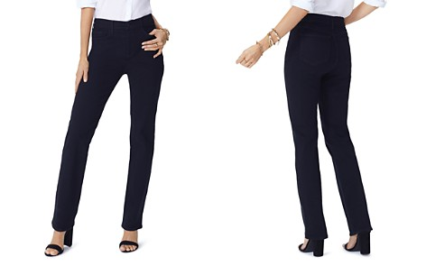 NYDJ Petites Slim-Leg Jeans in Black - Bloomingdale's_2