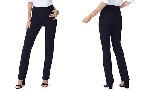 NYDJ Petites Slim-Leg Jeans in Black - Bloomingdale's_2